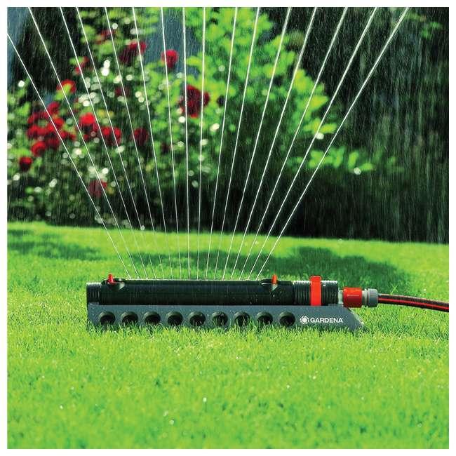 GARD-1975-U Gardena 1975 Aquazoom Oscillating Lawn Sprinkler 3