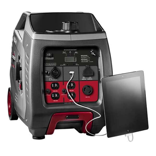 GEN-30545-U-A Briggs & Stratton 30545 P3000 Portable 3000-Watt Inverter Generator (Open Box) 2