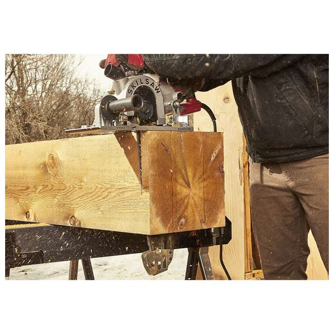 SPT55-11 SKILSAW SPT55-11 16 Inch Heavy Duty Worm Drive SAWSQUATCH Carpentry Chainsaw 7