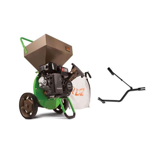 EARTH-30520 + EARTH-1692327 Earthquake Tazz Shredders Compact Wood Chipper & Chipper/Shredder Tow Bar Hitch