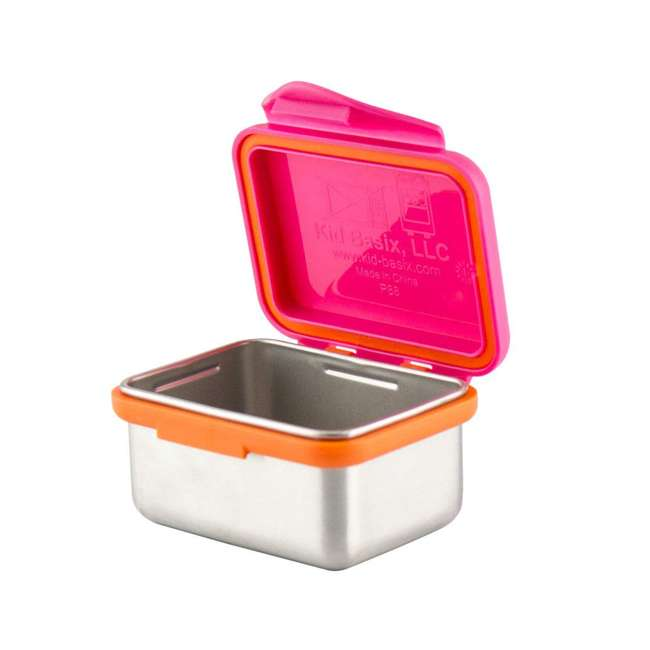 894148002800+894148002923+894148002961+89414800210 Kid Basix 23oz Lunch Box + 13oz and 7oz Containers + 12oz Water Bottle 4