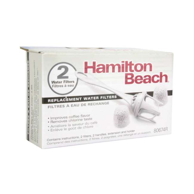 6 x 80674R Hamilton Beach Replacement Water Filters (12 Pack) 3