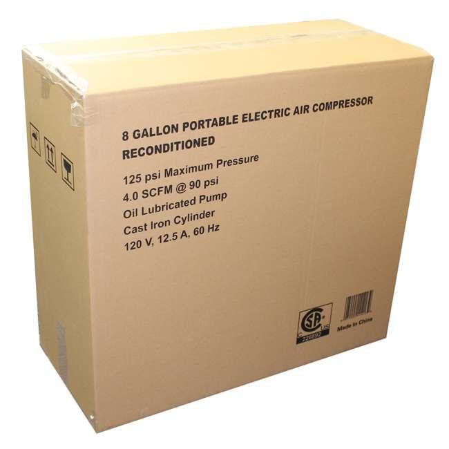 TA-2530B-RB Construction Crew TA-2530B 1.5HP 8 Gallon Portable Air Compressor | (Refurbished) 4
