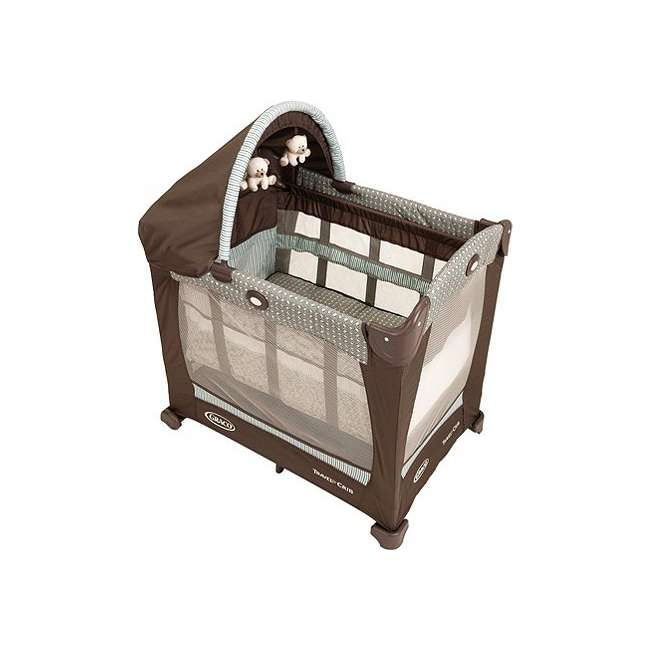 1780721 Graco Travel Lite Portable Baby Crib - Notting Hill