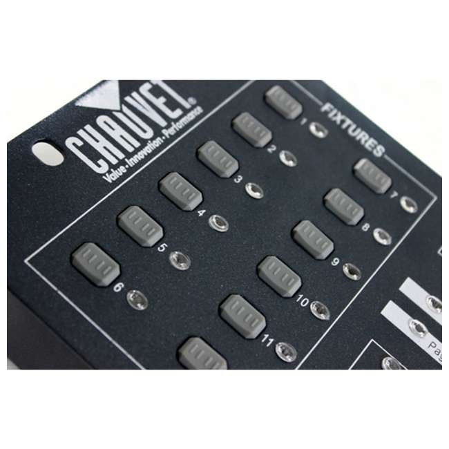 OBEY40 + DMX3P25FT + 3 x DMX3P10FT Chauvet OBEY40 Obey 40 DMX-512 Universal LED Light Controller w/ 10' & 25' Cables 4