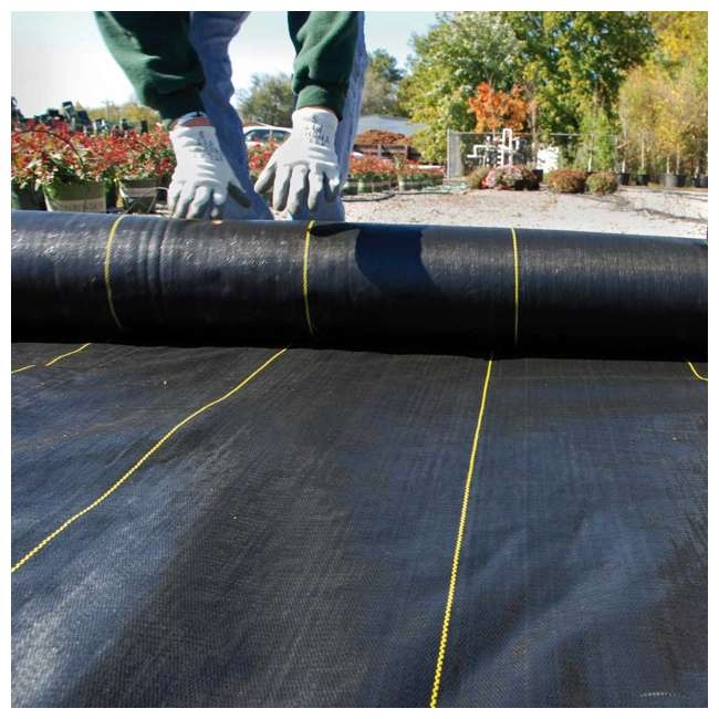 5 x DWT-SBLT6300 DeWitt DWT-SBLT6300 Sunbelt 3.2 Ounce Weed Barrier Fabric Cover, 6 x 300' 5 Pack 3