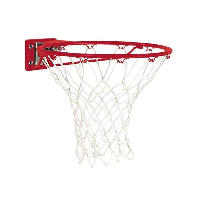 7888S Spalding Pro Slam Basketball Rim Steel Red 1