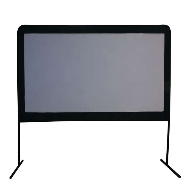 """CC_OS120-U-C Camp Chef Entertainment 120"""" Backyard Movie Projection Big Screen (For Parts)"""