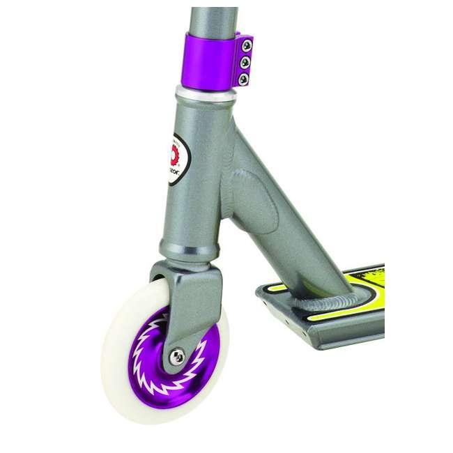 13018150 Razor Pro Rider El Dorado Deluxe Kids Push Kick Scooter, Gray (2 Pack) 2