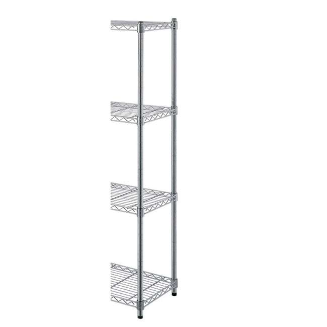 AM178-U-C AIMCO 4 Tier Heavy Duty Household Storage Wire Shelving Unit (For Parts) 3