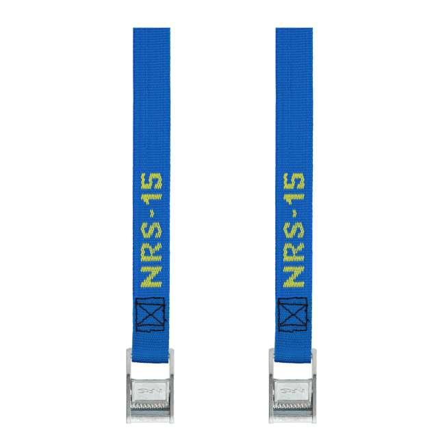 NRS_60001_01_116 NRS 1-Inch Long Heavy Duty Tie Down Strap, 15 Feet Long (Pair)