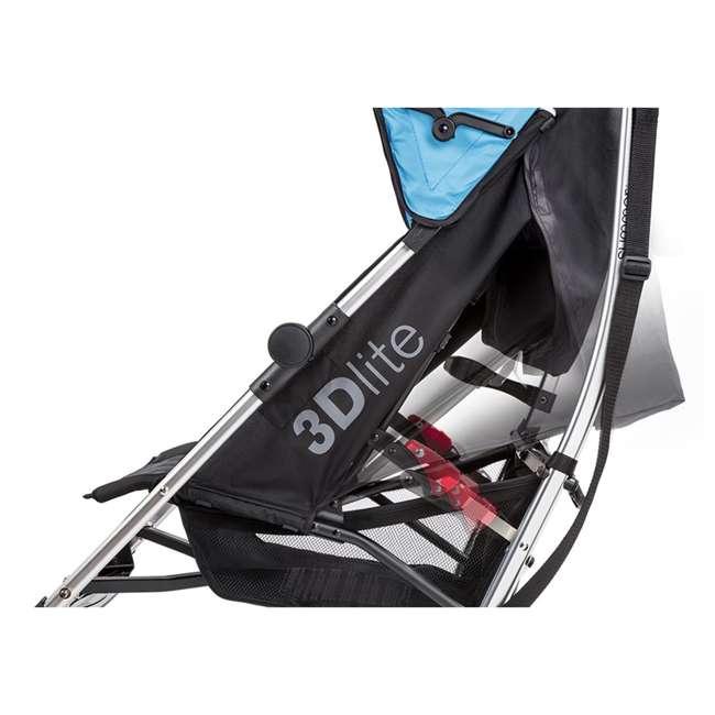 21840A Summer Infant 3Dlite 42 Inch Convenience Stroller, Caribbean Blue 8