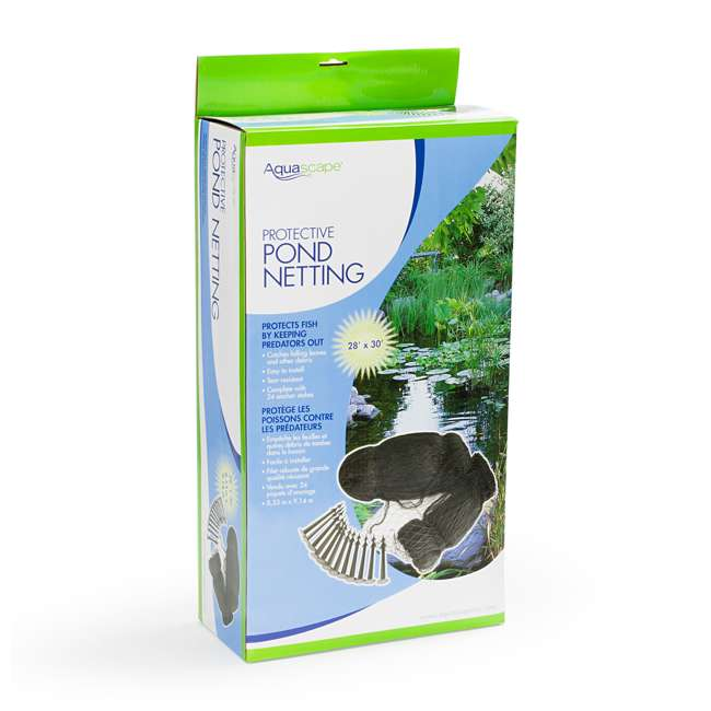 3 x AQS-98002 Aquascape 28 x 30-Foot Protective Pond Netting Cover (3 Pack) 4
