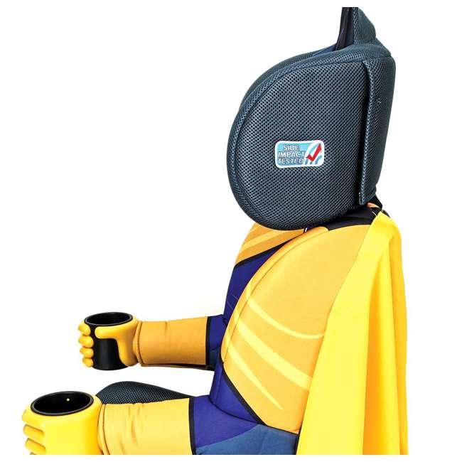 KE-3001BTG Kids Embrace Combination 2 in 1 Booster Forward Facing Car Seat, DC BatGirl 5