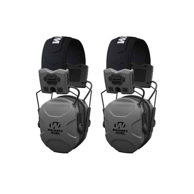 GWP-XSEM-BT Walker's XCEL 500BT Digital Shooting Hearing Muff (2 Pack)