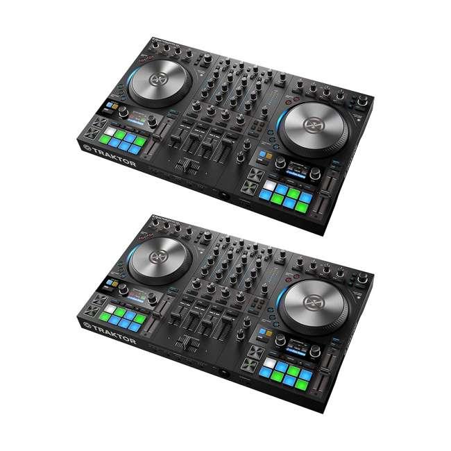 25221 Native Instruments Traktor Kontrol S4 4-Channel DJ System (2 Pack)