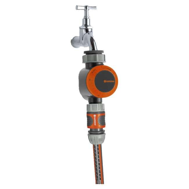 GARD-31169 Gardena Mechanical Water Timer with Flow Control 2