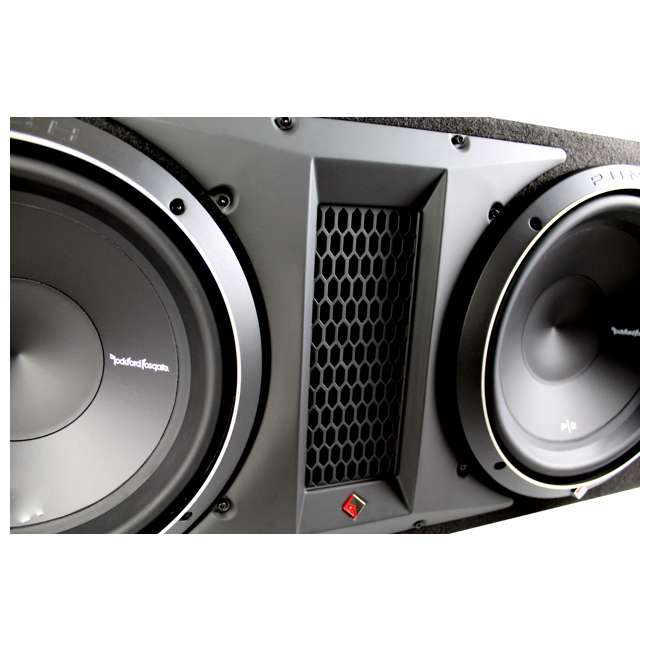 P1-2X12 Rockford Fosgate P1-2X12 12-Inch 1000W Dual Loaded Subwoofer + Enclosure 2