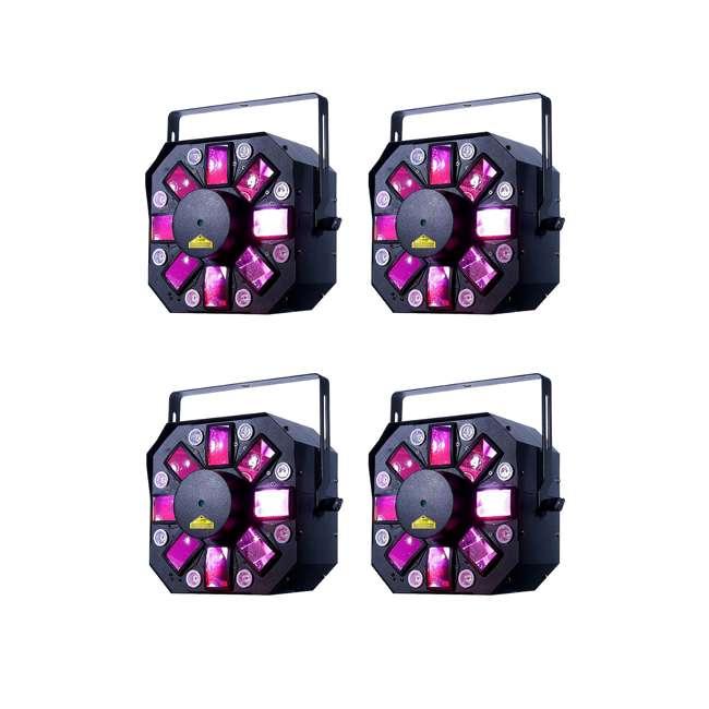 4 x STINGER-II American DJ Stinger II FX Moonflower and UV Black Light (4 Pack)