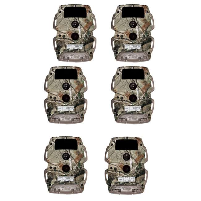 6 x WGI-K8B5B Wildgame Innovations 8MP Cloak Lightsout Trail Camera (6 Pack)
