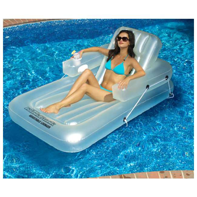 6 x 90521 Swimline Inflatable Kickback Lounger (6 Pack) 1