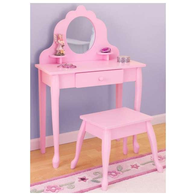 Magnificent Kidkraft Diva Mirror Vanity Table Stool Set 13023 Creativecarmelina Interior Chair Design Creativecarmelinacom