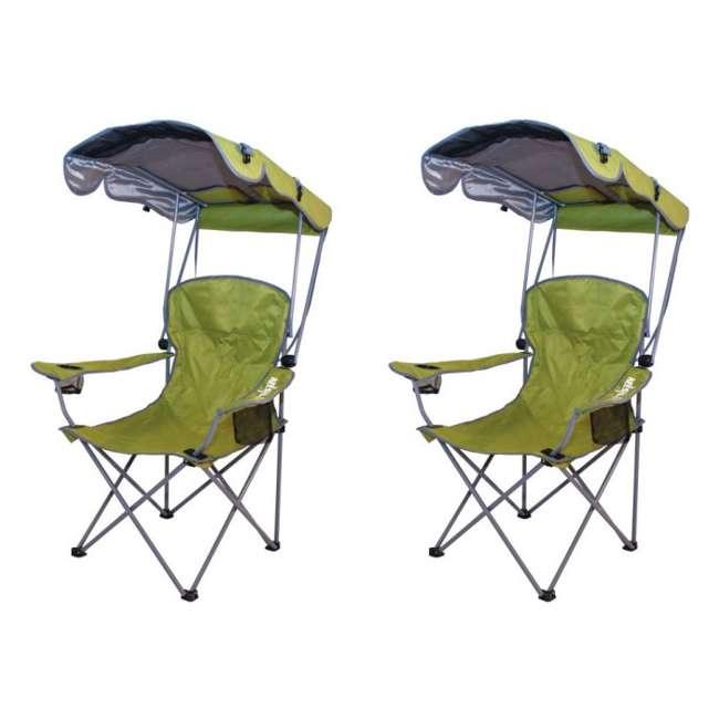 Kelsyus Original Canopy Folding Backpack Lounge Chair