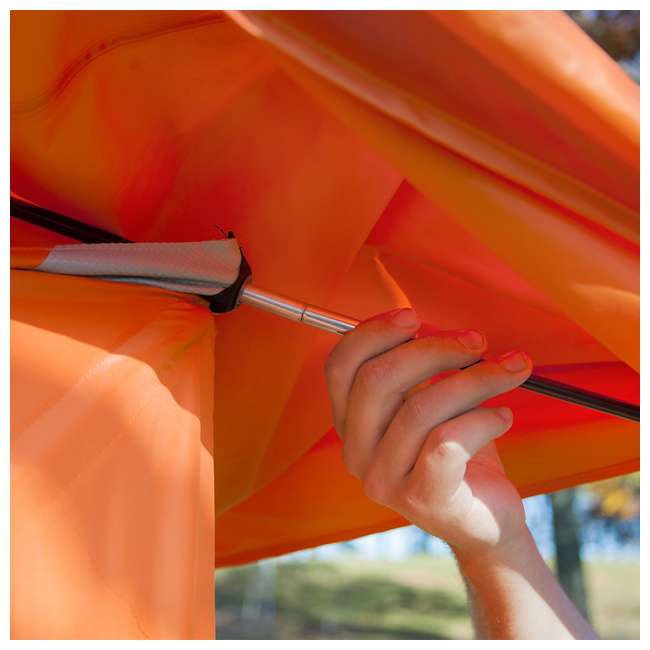 GAZL-22272 Gazelle T4 94 x 94-Inch 4-Person Pop-Up Camping Hub Tent 3