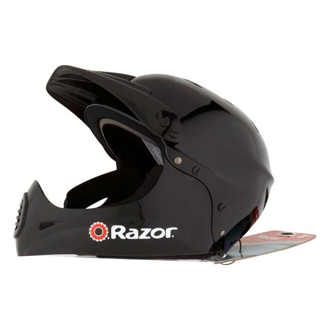 15128008 + 97775 Razor MX400 Dirt Rocket Electric Motorcycle, White + Helmet 9