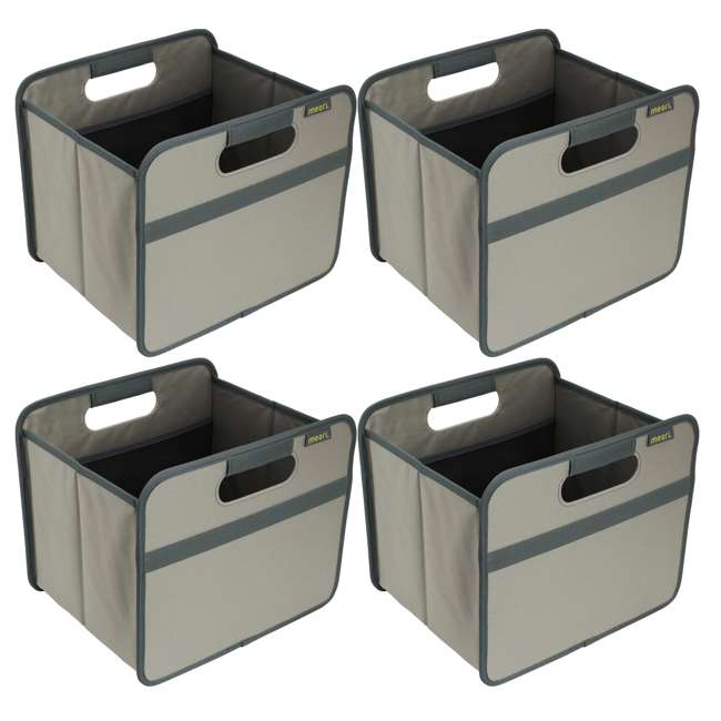 4 x A100028 Meori Classic Collection 4-Gallon Small Foldable Storage Box (4 Pack)