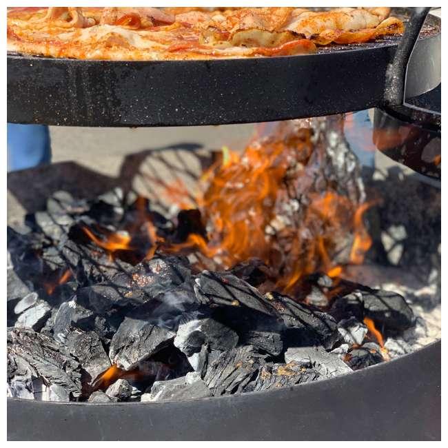 JD-20-LBS Jealous Devil 100 Percent Natural Hardwood Wood Lump Grill Charcoal, 20 Lbs (8) 9