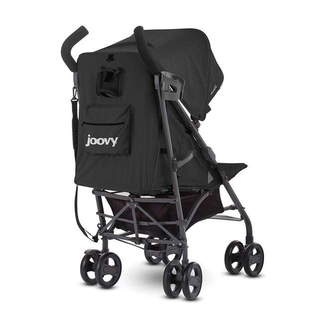 JVY-8127 Joovy Groove Ultralight Compact Canopy Umbrella Stroller, Black 4