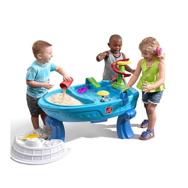 894700 Step2 Fiesta Cruise Sand and Water Table