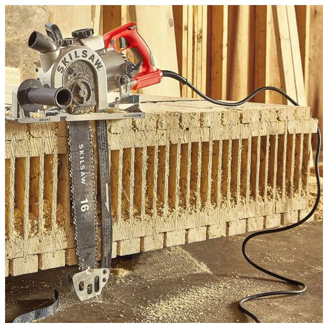 SPT55-11 SKILSAW SPT55-11 16 Inch Heavy Duty Worm Drive SAWSQUATCH Carpentry Chainsaw 8