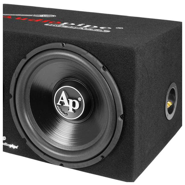 APSB-1299PP Audiopipe Loaded Dual 12s Amp Wire Kit Car Audio Combo Package 4