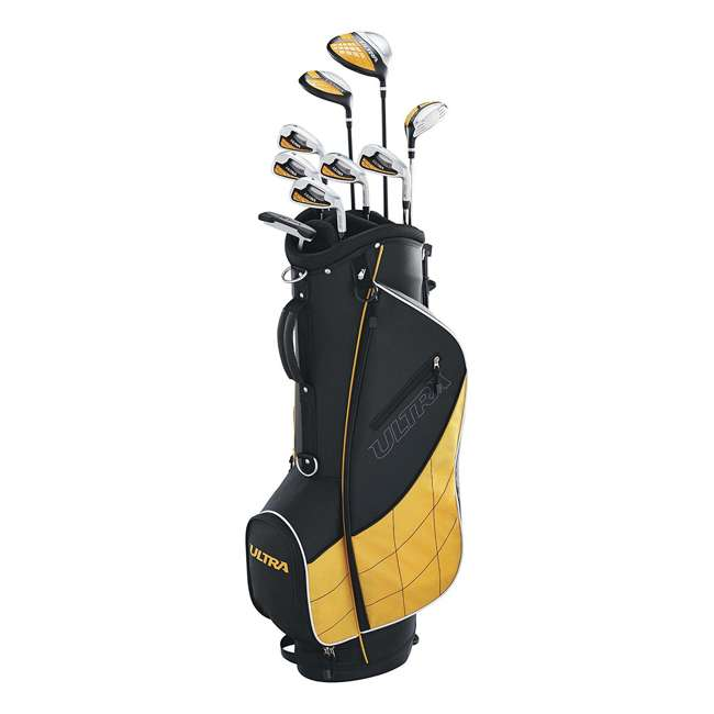 WGGC43000 Wilson Ultra Mens Complete Right Handed Golf Club Set w/ Stand Bag 1