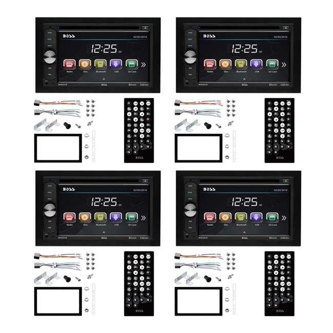 4 x BV9351B Boss Audio Double DIN In-Dash Touchscreen Car Reciever (4 Pack)