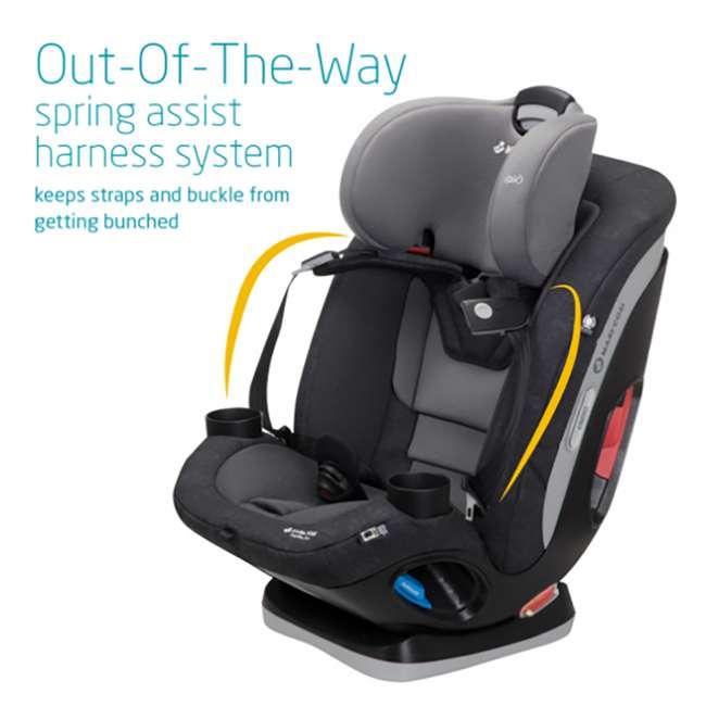 CC209ETK Maxi-Cosi Magellan 5-in-1 Convertible Car Seat with Chest Clip, Nomad Black 1