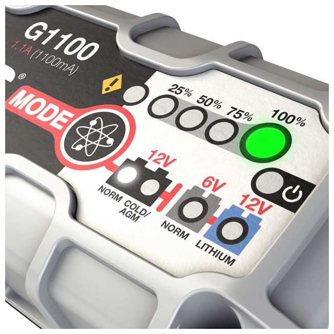 G3500 NOCO G3500 6V & 12V 3.5A UltraSafe Battery Charger and Maintainer 2