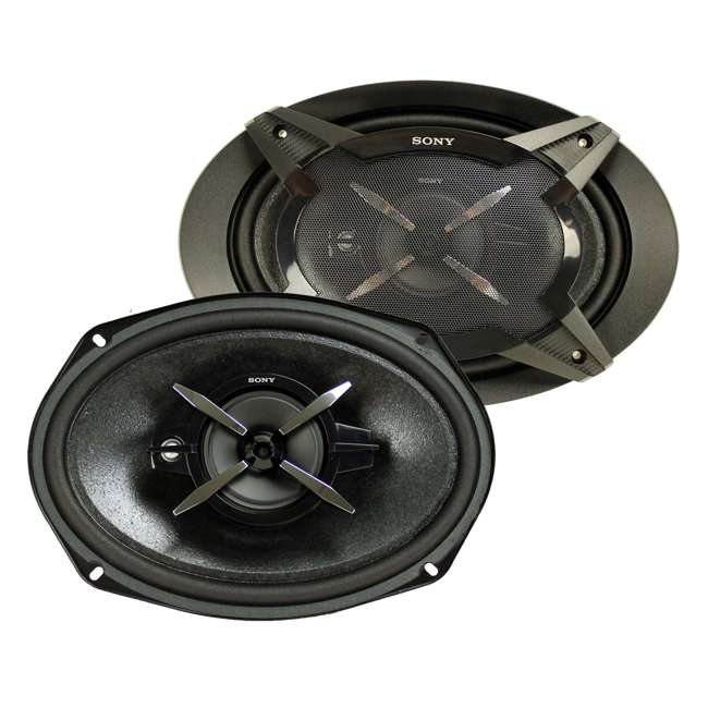 4 x XSFB6930 Sony XSFB6930 6x9-Inch 3-Way 450W Coaxial Stereo Speakers (4 Pairs) 1