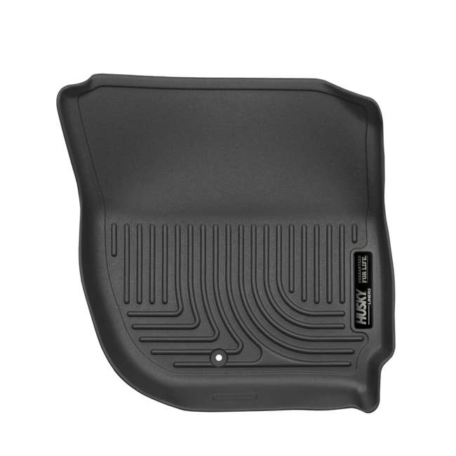HUSKY-18491-OB Husky Liner Weatherbeater Front Floor Liner for Honda Fit or HR-V 2