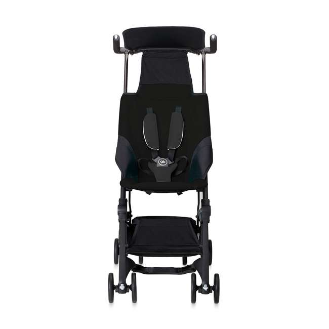 618000791 Pockit Record Collapsible Stroller, Black 1