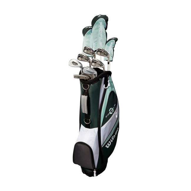 WGGC4380L + WGWP43500 Wilson Profile XLS Women's Left Hand Graphite Golf Club Set & Balls 2