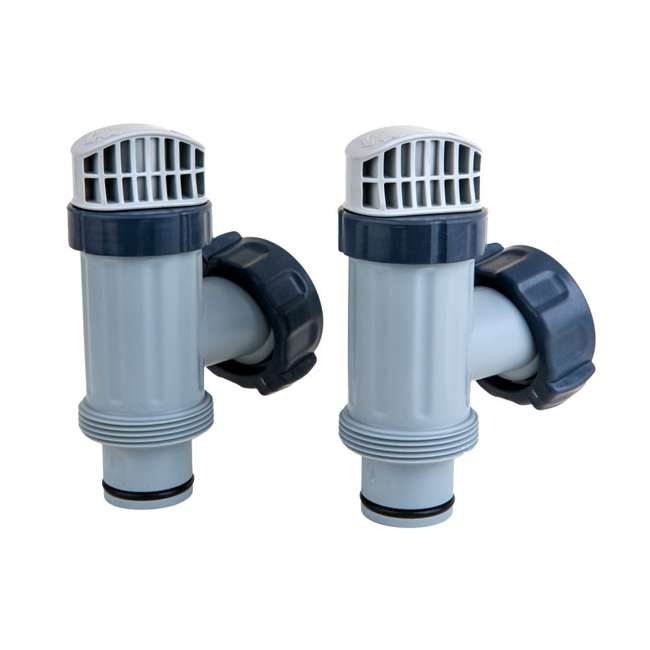 25080RP Intex Above Ground Pool Plunger Valve Replacement Part (2 Pack)  (2 Pack)