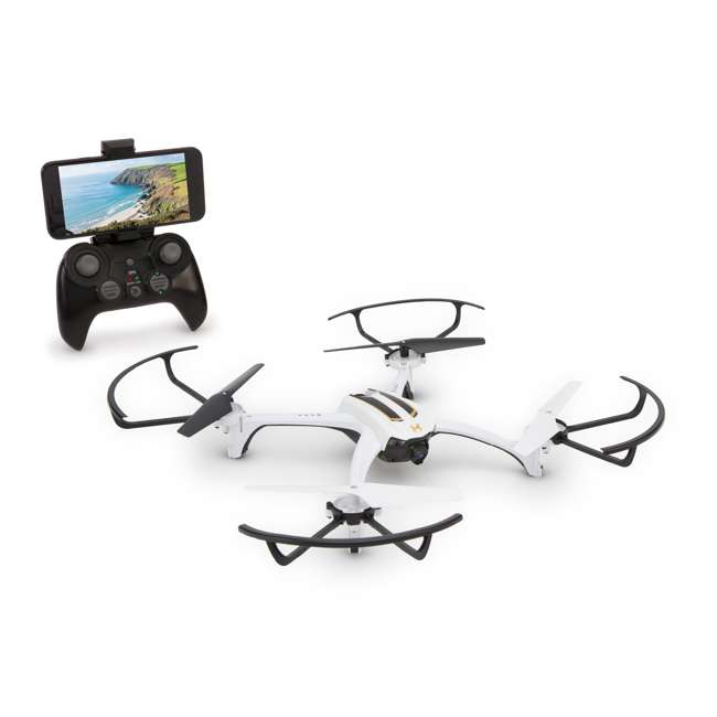 SKY-01849-U-A Sky Viper Journey Pro GPS Live Streaming & Video Drone Quadcopter (Open Box)