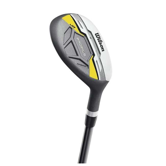 WGGC6122L Wilson Profile Complete Junior Left Hand Golf Set, Yellow 2