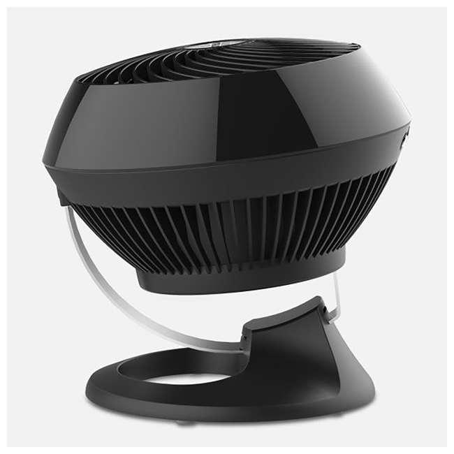 VOR-560-BLACK Vornado 560 Medium Air Circulator Floor Fan, Black (2 Pack) 3