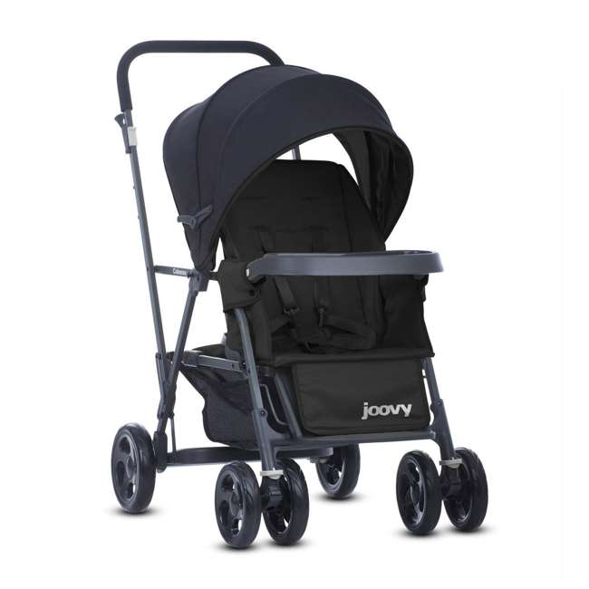 Joovy caboose graphite convertible tandem double stroller