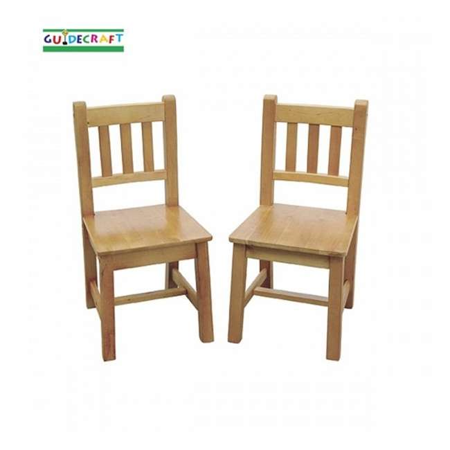G85503 Guidecraft Mission Chairs (Set of 2)