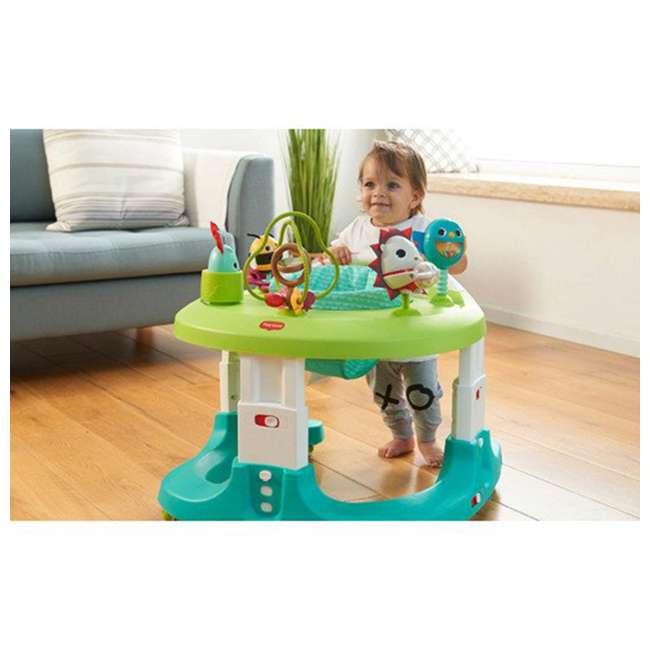 WA077ETT Tiny Love Meadow Days 4 in 1 Here I Grow Baby Mobile Activity Center, Green 5